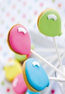 Balloon Cookie Pops