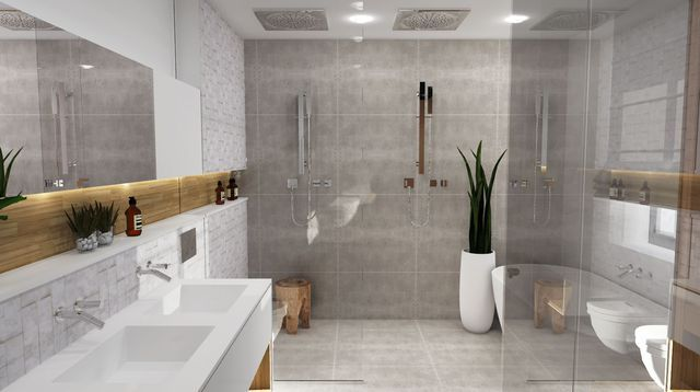 Les 25 meilleures id es de la cat gorie mobalpa salle de for Humidite salle de bain solution