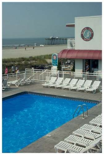 Beach Club Hotel: 1280 Boardwalk, Ocean City, NJ 08226.