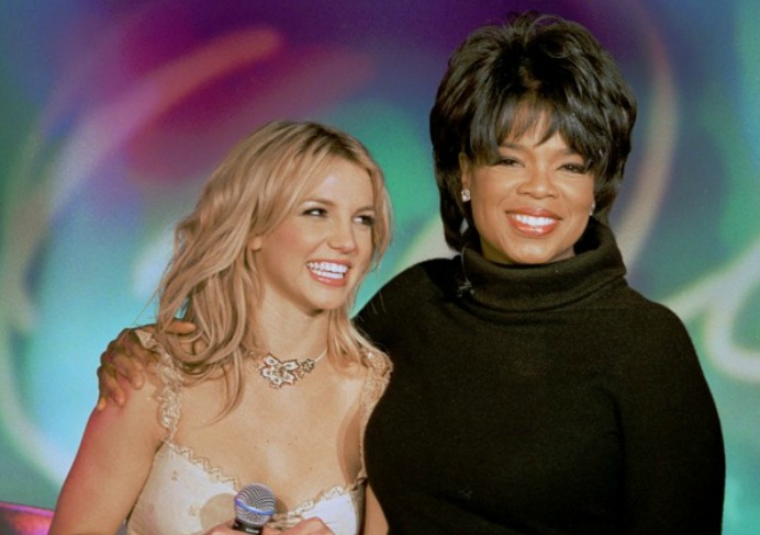 Britney Spears & Oprah Winfrey in 2002