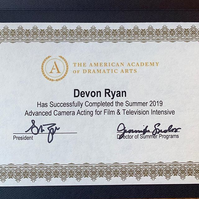 Super Grateful To Have Had The Opportunity To Work On The Craft At The American Academy Of Dramatic Arts In Los Angeles Dramatic Arts Dramatic Summer Program