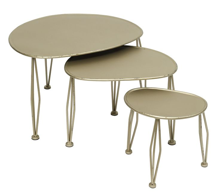3 shaped tables S/3 från Nordal hos ConfidentLiving.se