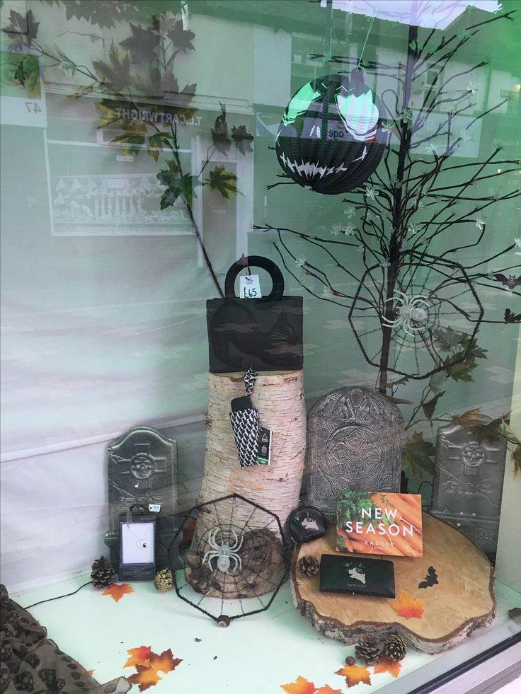 Halloween 2016 Window display  Mymagpiesnest.com