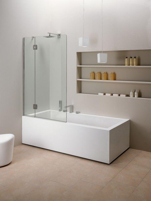 Oltre 25 fantastiche idee su vasca da bagno doccia su - Altezza vasca da bagno ...