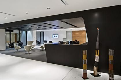 Office interior design minter ellison law firm cunsolo for Interior design agency sydney