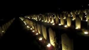 Image result for candle cemetery