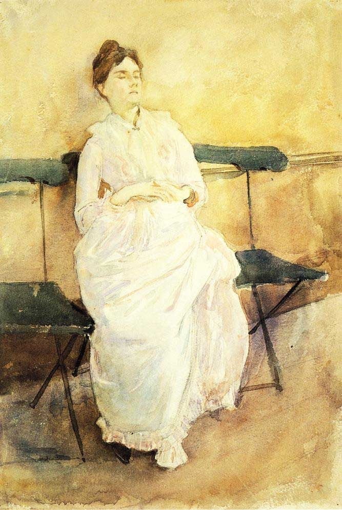 John Singer Sargent's Violet Sargent (Bench)