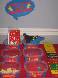 Superhero party activity diy