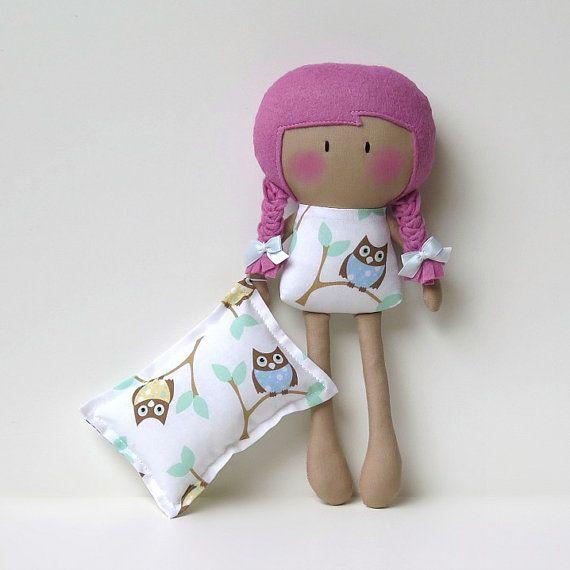 Mi papi diminuta muñeca ® Nite Nite por CookYouSomeNoodles en Etsy