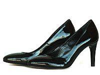 Черные туфли лодочки Т-93