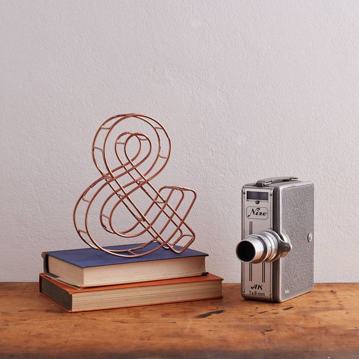 Are you interested in our copper ampersand copper