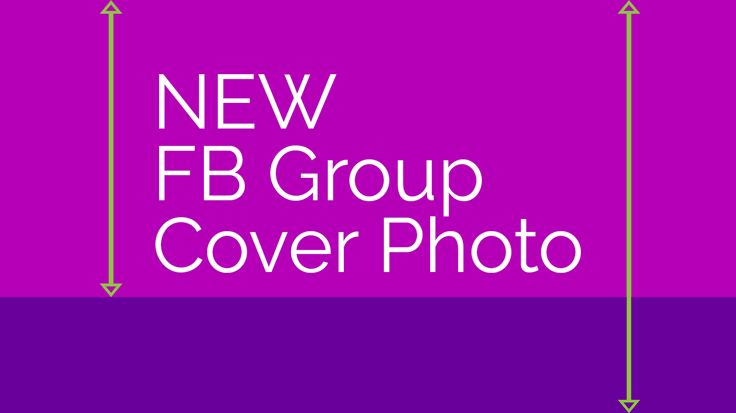 Facebook Group Cover Photo Size Fall 2017: Template   The Facebook group cover photo size just changed. It crops differently on every device, so you'll want to use this template!