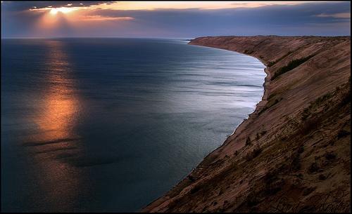 Grand Sable Dunes, Pictured Rocks National Lakeshore, Grand Marais, Michigan