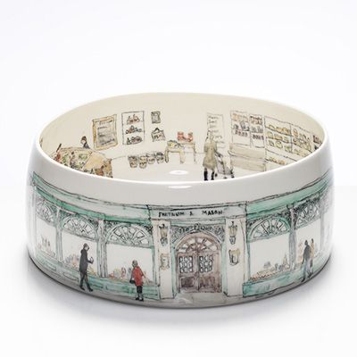 Fortnum & Mason bowl: by Helen Beard. i am gobsmacked