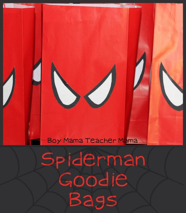 bolsitas Spiderman