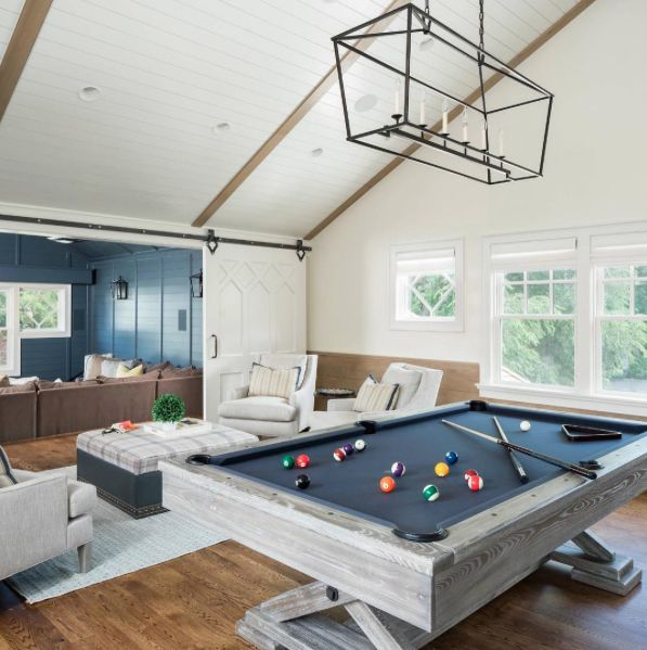 Nice playroom living with angles pinterest game for Rec room pools