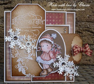 Love to ScrapChristmas Cards Tags, Another, Magnolias Cards, Een Magnolias, Handmade Cards, Carts Magnolias, Kaart Magnolias, Scrap, Christmas Cardstag