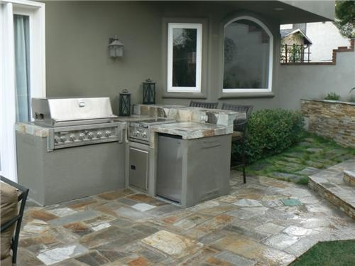 Google image result for for Small space outdoor kitchen