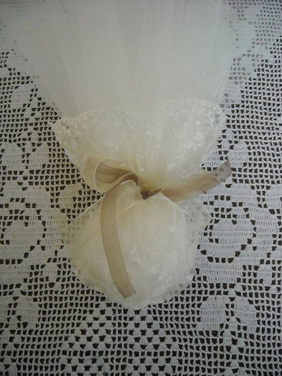 Handmade organza wedding or bridal shower by FavorsAndMorebyFiona, $4.50