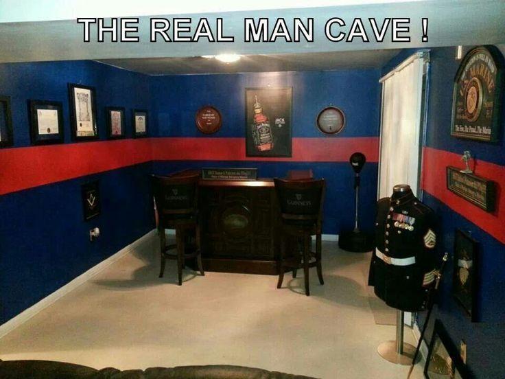 Real man cave! Marine. Trophy room. Room ideas. | USMC ...