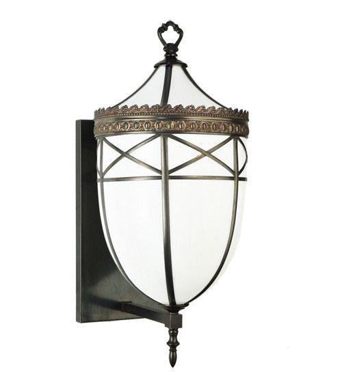 """26""""H Borough Hall Victorian Outdoor Wall Sconce"""