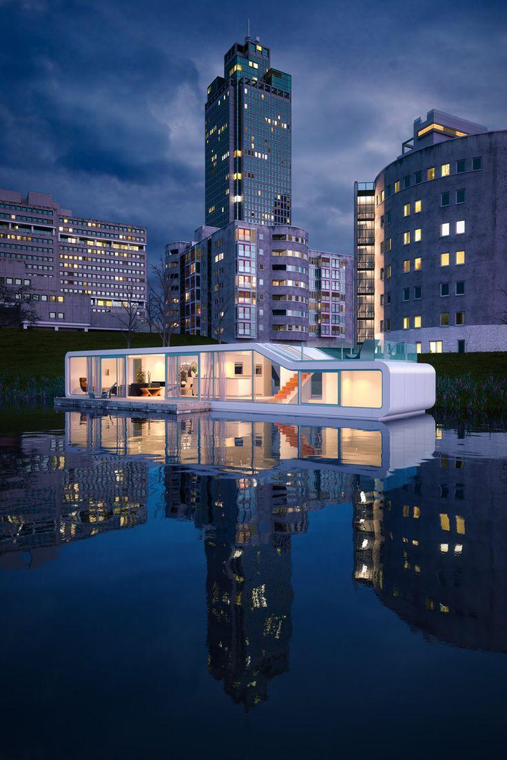 Virginia Duran Blog-Amazing architecture Amsterdam-Watervilla Omval