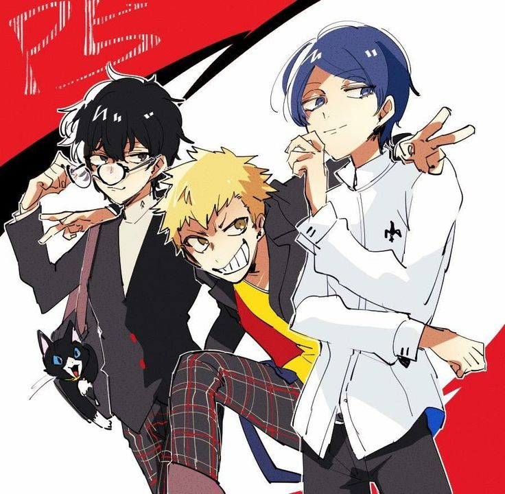 5 Persona Ryuji X Akira