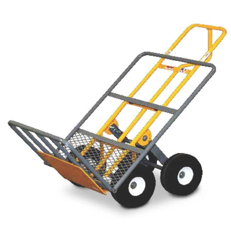 "51"" x 24"" x 30"" Heavy Duty Hand Cart with 4 All-Terrrain Airless Wheel"