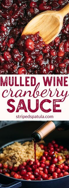 Mulled Wine Cranberry Sauce | Cranberry Sauce Homemade | Cranberry Sauce Thanksgiving | Cranberry Recipes | #cranberry #cranberryrecipe #cranberrysauce #thanksgiving #thanksgivingideas #thanksgivingdinner #ThanksgivingRecipes