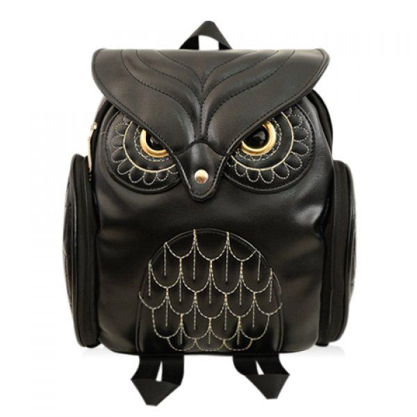 I must try to make this! The size they sell are tiny. Preppy Owl Pattern and Stitching Design Women's Satchel