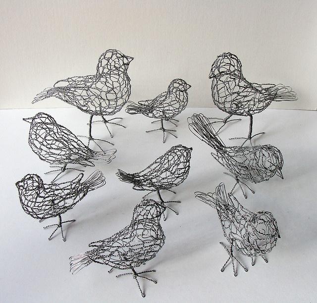 all the little birdies go tweet tweet tweet.