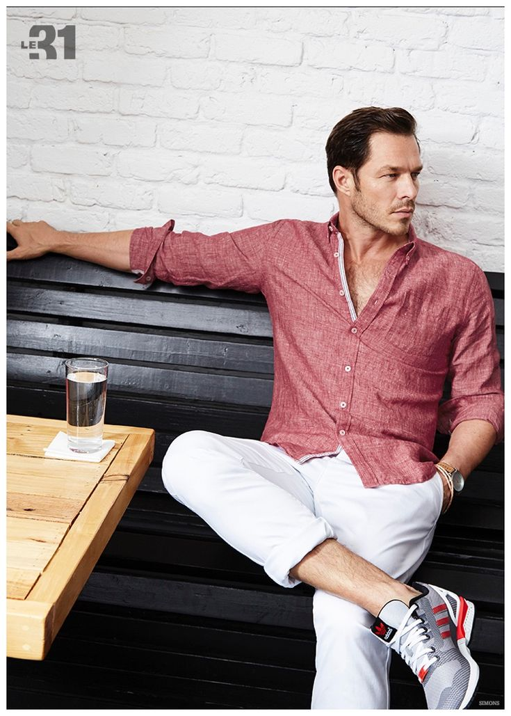 Paul Sculfor Models Classic LE 31 Menswear Styles for Simons