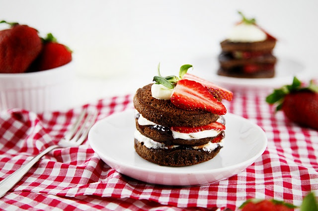 Tasty Tuesday - Chocolate Pikelet Stacks