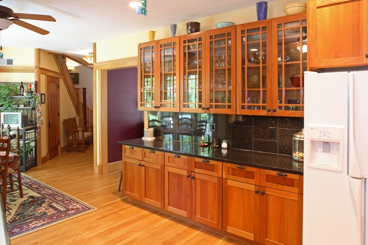 Kitchen Cabinets on Pinterest  Cherry Cabinets, Craftsman Kitchen