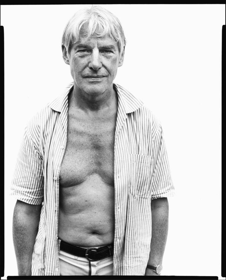 Willem de Kooning, painter, Springs, Long Island, August 18, 196