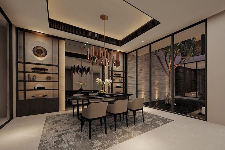 .modern resort.  .tessuti design.