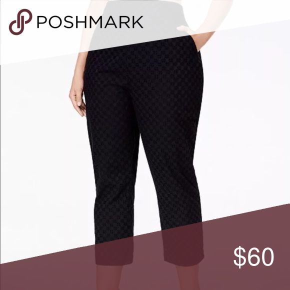 MELISSA MC CARTHY SEVEN 7 CROPPED PANTS NWT BEAUTIFUL CROPPED PANTS Melissa McCarthy Seven7 Pants Ankle & Cropped