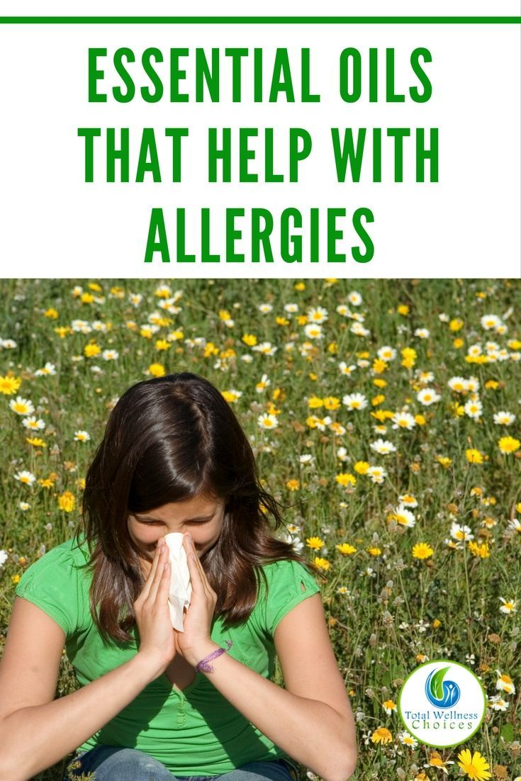4 Best Essential Oils that Help with Allergies to Enable You Relieve Allergy Symptoms. via @wellnesscarol
