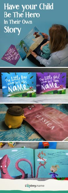 Make storytime more magical with a personalized book from Lost My Name. The wonderfully written and beautifully illustrated personalized book takes your child on an adventure to find their missing name, collecting letters off the exciting characters they meet. Each book is made to order and personalized so it's unique and special to your child. Receive free shipping when you order today.