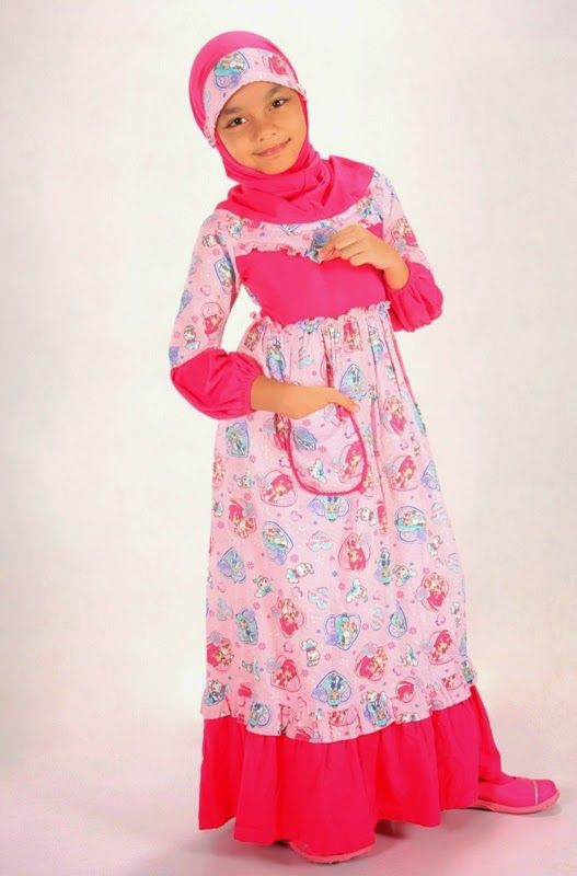 Pin By Mariani On Cloth Kid Pinterest Muslim Dress Anak And Muslim Fashion
