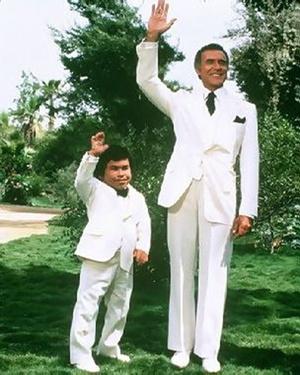 "Mr. Roarke & Tattoo from Fantasy Island. ""Boss, da plane!  Da plane!"" ""Welcome, to Fantasy Island..."" (1977-1984)"