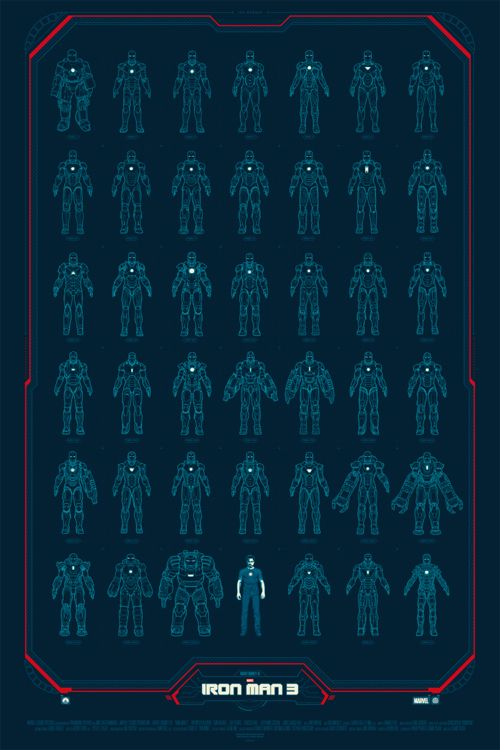 Iron Man 3 by Phantom City Creative