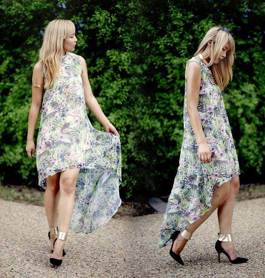 Viparo Cuban Paradise Dress, Wittner Heels
