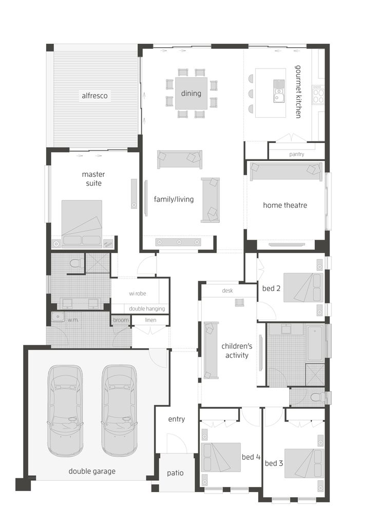 17 Best Images About Floorplan For Reno On Pinterest Queenslander Beige Dining Room And House