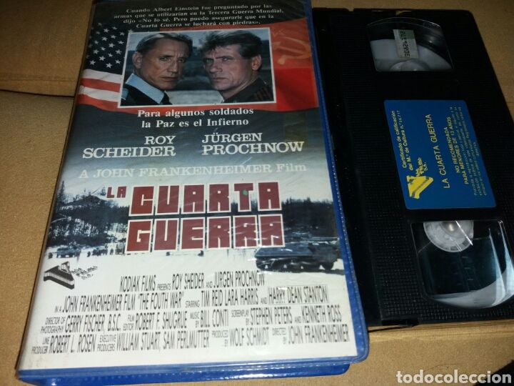 LA CUARTA GUERRA (THE FOURTH WAR, 1990), PAL VHS, VISA FILMS s.a., ESPANJA, what is the E.U., Jane BIRKIN, Sylvia KRISTEL, Fairuza BALK, St. Vincent Annie CLARK, Color Me Nana, Dylana SUAREZ, Christine and the Queens, Natalie Off Duty, grunge goth, indie hipster fashion, style inspiration, feminism movement, erotic art, rock-muoti, rockabilly girls, bohemian outfit, gypsy punk, ikonit, it girls, kauhu, uusi aalto, French new wave, bedhead, Rush Week 1989, MCEG Virgin Vision, #ImWithHer…