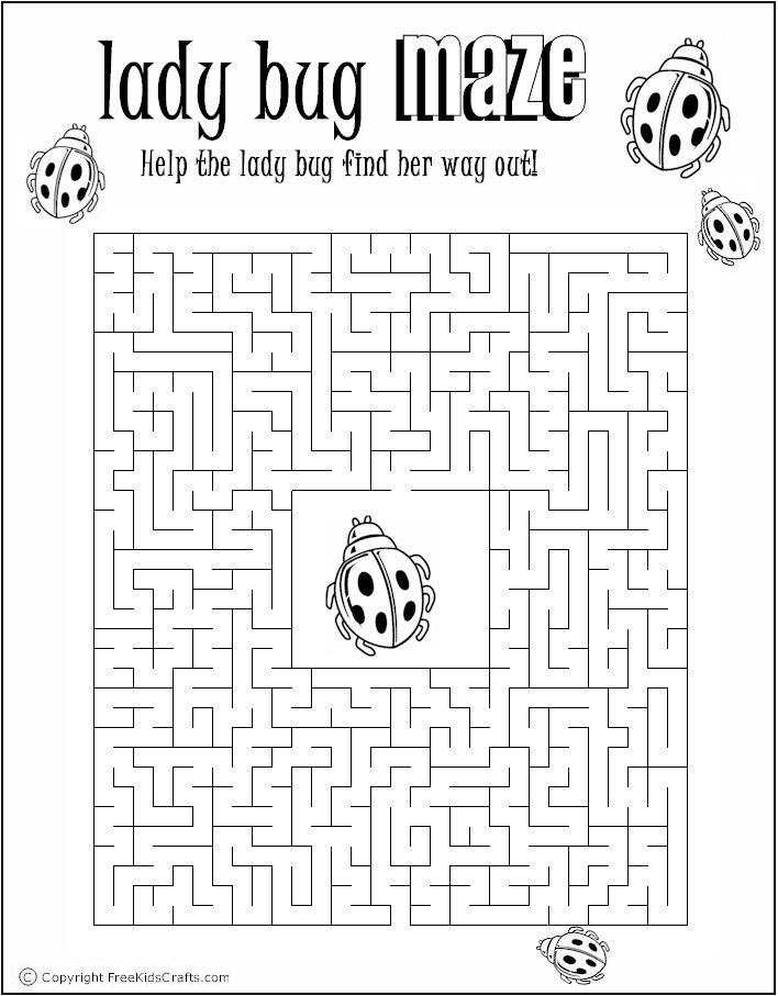 Printable Maze Puzzles for Adults | Free Printable Summer Word Find Puzzles http://www.freekidscrafts.com ...
