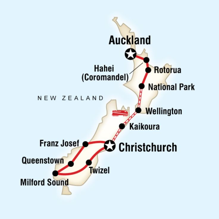 Check out a hot water beach, attend a Hangi in Rotorua, let loose in Queenstown, cruise around the fjords of Milford Sound, travel famous scenic rail routes