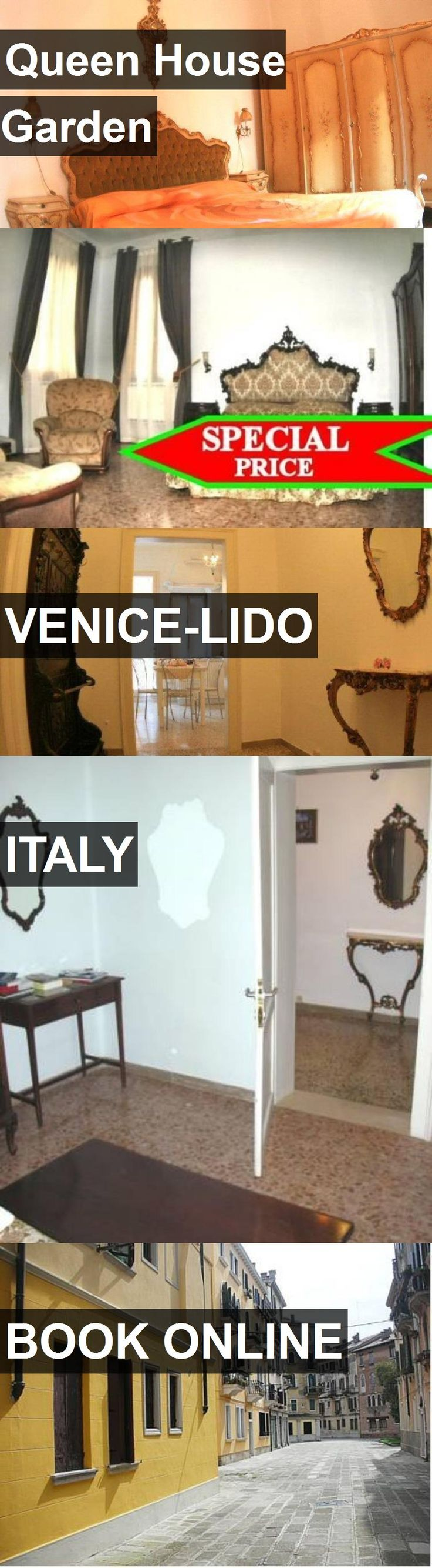 Hotel Queen House Garden in Venice-Lido, Italy. For more information, photos, reviews and best prices please follow the link. #Italy #Venice-Lido #travel #vacation #hotel