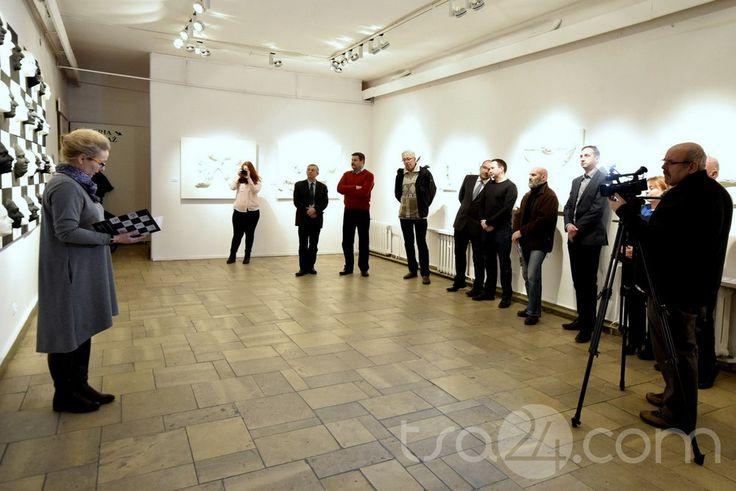 """Exhibition """"Shapes"""", BWA, Sandomierz / 2016"""
