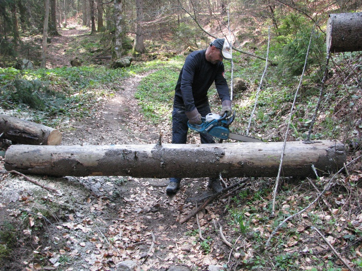 Tourist path maintenance in Harghita Mountains #greatwalker